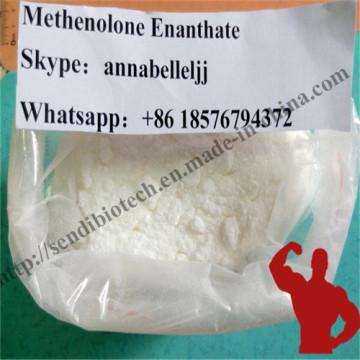 Белый примоболановый стероид-метенолон энантат для мышечной массы, получающий CAS 303-42-4