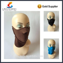 NINGBO LINGSHANG design your own high quality ski face mask beanie knitted neck warmer