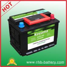 Batterie de voiture DIN Standard 54519mf-12V45ah pour Dubaï