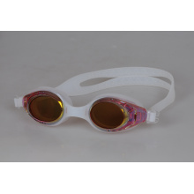 Waterproof UV Protected Anti-Fog Adult Silicone Swimming Glasses/Goggles