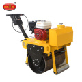 Walk Behind Bensin Tunggal Drum Vibratory Road Roller