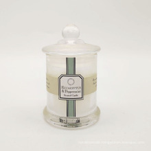 Home Essential Tall Scented Glass Match Scented Candle