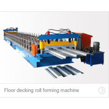 Günstige Boden Deck Roll Forming Machine