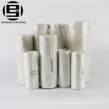 Bolsas de plástico del rollo de almacenamiento del ahorrador de alimentos del sellador al vacío del grado comercial