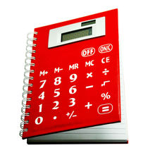8 Digits Multi function Solar Coil Notebook Calculator