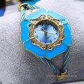 Bracelete Sparkle Relógios Femininos Gold Tone