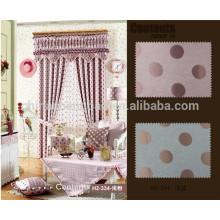 Conception de rideaux de fenêtres à patchwork sari de style coréen