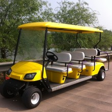 6 seater gas powered golf carts