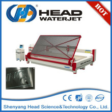 Hydrojet machine abrasive cut water jet cutting glass process machine