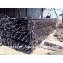 Черная отожженная квадратная стальная труба для мебели с использованием