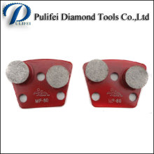 Segment de meulage de diamant de cobalt élevé pour utilisé sur la machine de meulage