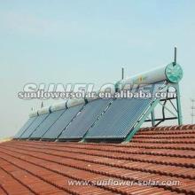 2014 de alta calidad integrativa del calentador de agua solar del sistema de control digital para la piscina