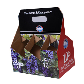 Strong Gift Wine Packaging Box for Six Bottle