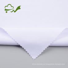 Lote de stock de tela de buceo de poliéster blanco lejía 75D