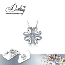 Destiny Jewellery Crystal From Swarovski Necklace Elated Pendant