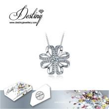 Судьба ювелирные изделия кристалл из приподнятое Swarovski ожерелье кулон