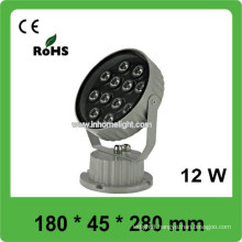 High power Waterproof 12w led light, outdoor led flood light