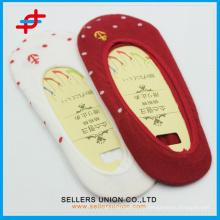 Новые хлопчатобумажные носки нового прибытия 2015 года, бесшовный гребнечесальный носок для дам