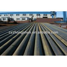 Tubo de aço carbono MS ERW ASTM A53 Gr B / API5L / Q235 / SS400
