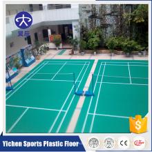 Organische und 100% reine PVC-Virgin-Rohstoffe Indoor-Kunststoff-Bodenbelag Großhandel