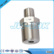 high quality stainless steel reducing hex pipe nipple