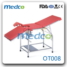 Used hospital S.S medical obstetric delivery table OT008