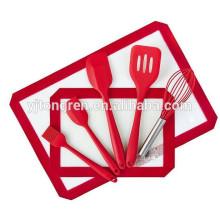 Trust pass kitchen Bakery supplies Set d'outils pour ustensiles de cuisson en silicone
