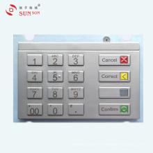 Clavier NIP de cryptage étanche à l'eau pour distributeur automatique