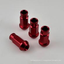 4PCS Aluminium Open End Wheel Lug Nut