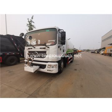 10tons 6 wheeler high pressure drinking water truck