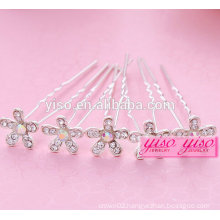 newest fast shipping jewelry crystal alloy jewelry hair pin