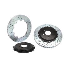 Rotor de freno de perforación de venta caliente 285 * 24 mm para Subaru / outlander / toyota