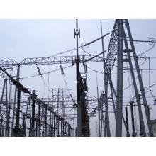 Linha de transmissão Torre de aço (a tensão mais alta é 230KV)