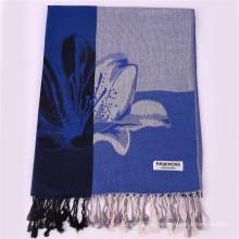 2016 heißer Verkaufs-dunkelblauer Art- und Weiseschal-Winter Pashmina Schal für Frauen