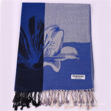 2016 Hot Sale Dark blue Fashion Scarf Winter Pashmina Shawl for Women
