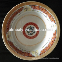 soup plate in ceramic material