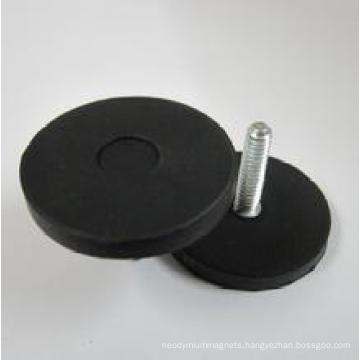 Rubber Coated Neodymium Permanent Magnet