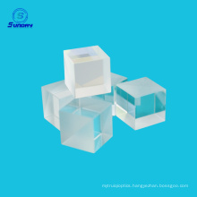 Optical BK7 glass beam splitter cubes