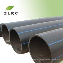 Nueva tubería negra de HDPE del material para el abastecimiento de agua
