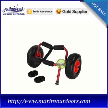 Trailer trolley with straps, canoe carrier cart have high quality