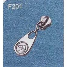 New design metal zipper fastener wholesale