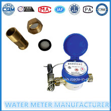 Impulse Transfer Single-Jet Dry Type Water Meter of Dn15mm