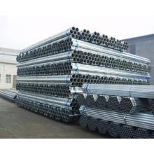 Tube en acier pré-galvanisé
