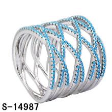2016 новая модель Латунь ювелирных изделий кольцо с бирюзой камень (с-14987)
