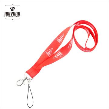 Logotipo personalizado multi-color impresso cordão de poliéster para evento de promoção