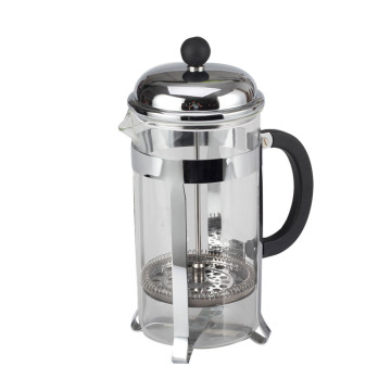 French Press Kaffeemaschine mit Edelstahlfilter