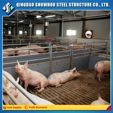 Construction Design Prefabricated Steel House Building Pig Farm
