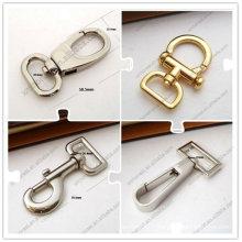 Crochet en sac en métal pour sacs à main