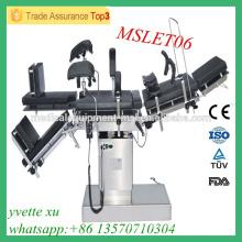 MSLET06M China Manufacture Günstige Betriebstisch Elektrische OP-Tisch Preis