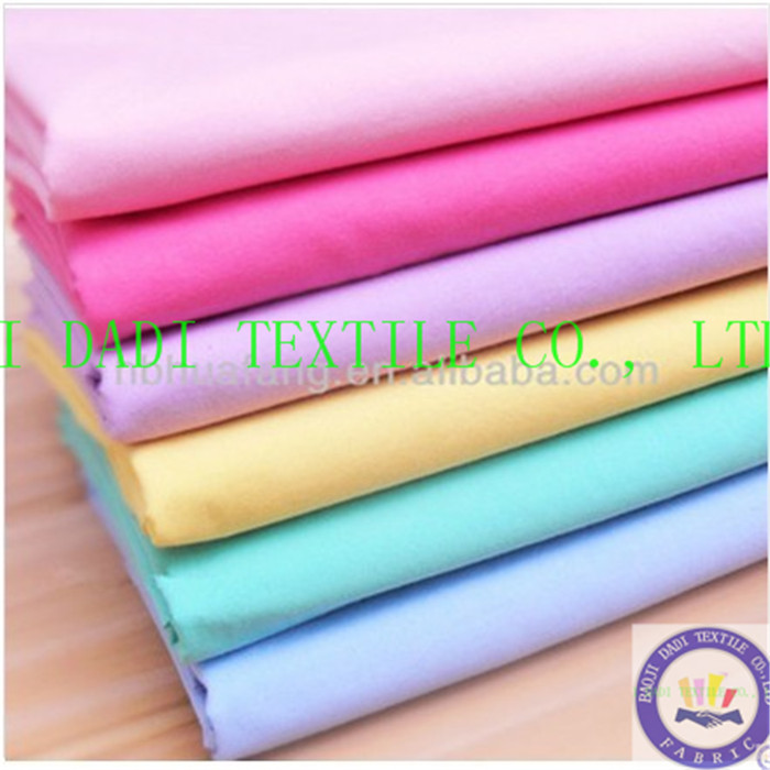 TC 90/10 45X45 DYED FABRIC